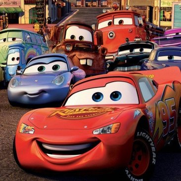 Lightning McQueen from the Disney film Cars 3