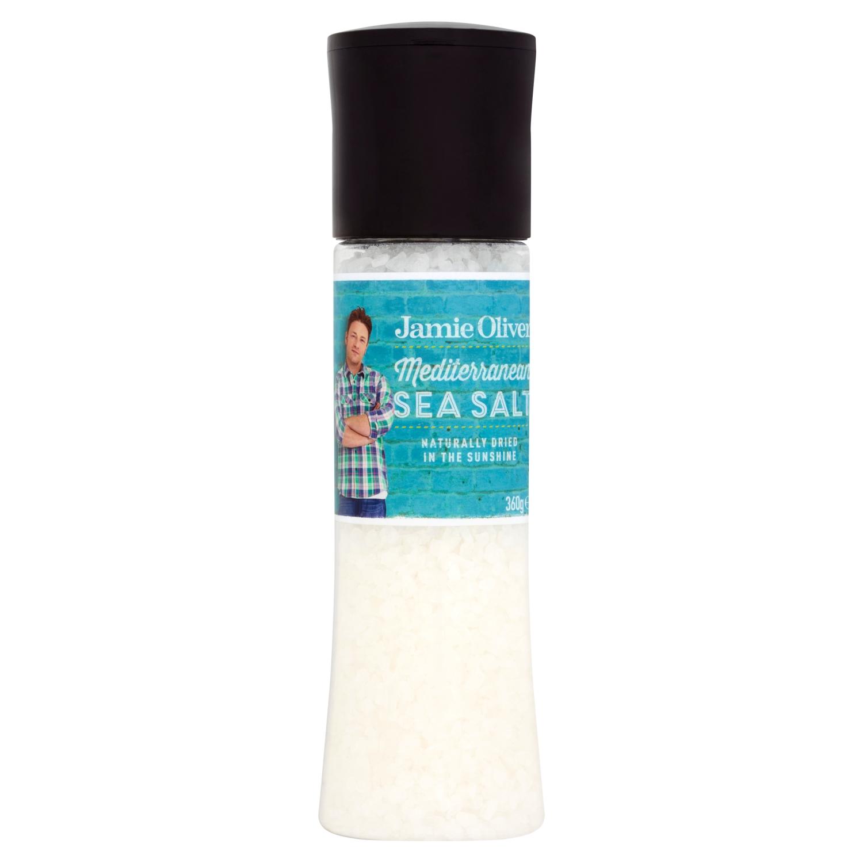 Jamie Oliver Mediterranean Sea Salt Large Grind Mill 360 g